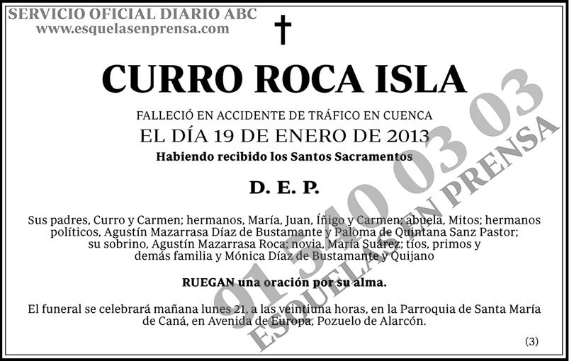 Curro Roca Isla